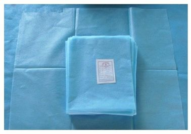 China PP Non Woven Disposable Bed Sheets For Hospital Machine Made Style supplier