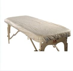 China Two Side Elastic Disposable Bed Sheets For Medical Stretcher Lightweight supplier