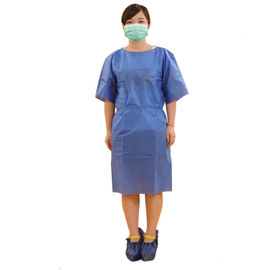 China Waterproof Non Woven Surgical Gown Medical Disposable Products Alkali Proof supplier