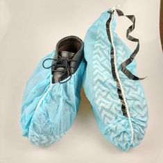 China Slip Resistance Plastic Shoe Protectors , Disposable Waterproof Shoe Covers supplier