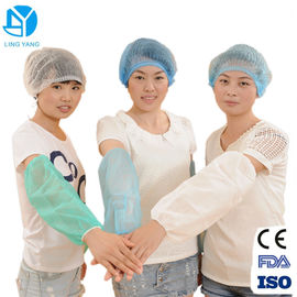 China Non Woven Soft Disposable Sleeve Covers For Chemical Workplace Eco Friendly supplier