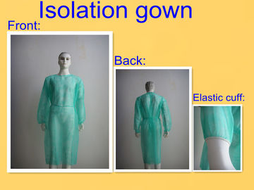 China Round Neck Sterile Surgical Gowns , Hospital Isolation Gowns Medical Product supplier