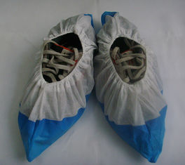 China Water Resistant Industrial Shoe Covers , Disposable Shoe Guards High Strength supplier