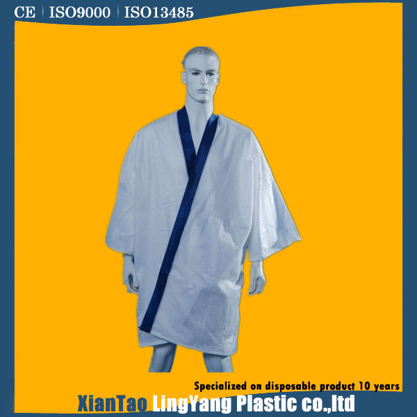 69fa9c1cc908 China Gown Style Disposable Spa Garments , Beauty Salon Disposables Anti  Static supplier
