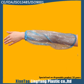 China Hand Made Flexible Disposable Sleeve Covers For Food Industry Dust Proof factory