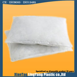 White Soft Disposable Pillow Cases / Disposable Pillow Protectors Environmental Friendly