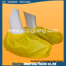 Yellow / Blue Disposable Boot Covers / Surgical Boot Covers Anti Dust Lightweight