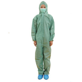 Industrial Non Woven Coverall Medical Protective Clothing High Air Permeability