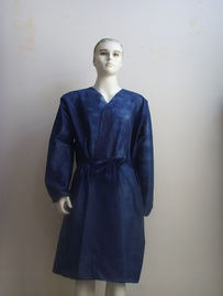 Lint - Free Disposable Spa Gowns / Kimono , Disposable Kimono Robe Light Weight