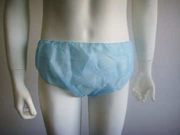 Non Woven Disposable SPA Products Women'S Disposable Underwear S-Xl Size