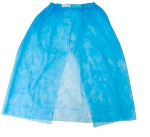 China Disposable Nonwoven/PP/SMS Skirt For Bath/Beauty factory