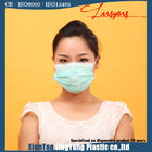Disposable Hospital Nonwoven One Time Use 3 ply Blue Earloop Face Mask