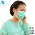 Long Sleeve Hospital Disposable Isolation Gowns Fluid Resistant Easy Removal