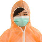 Disposable Microporous Protective Coveralls with Hood and Booties for Adults